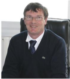 Le Pr Xavier Troussard, Président de la CME