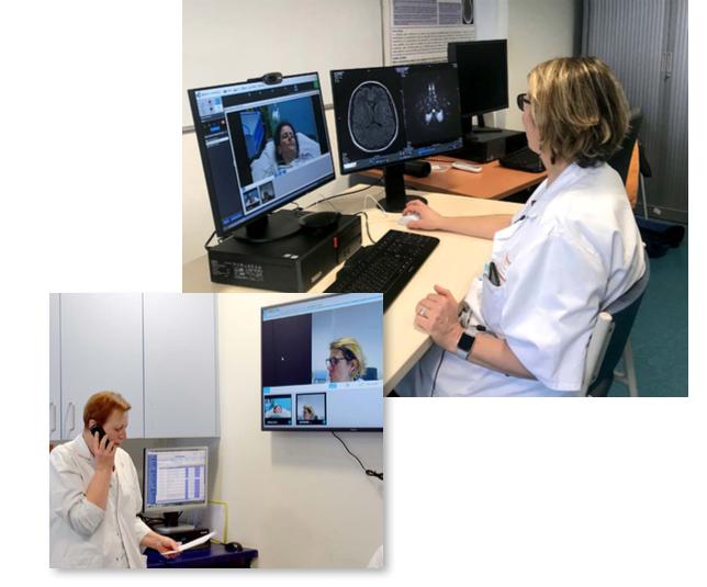 Télé-AVC entre les Hôpitaux Universitaires de Strasbourg et le CH de Saverne : pour une prise en charge équitable des AVC en termes d'accès à la thrombolyse
