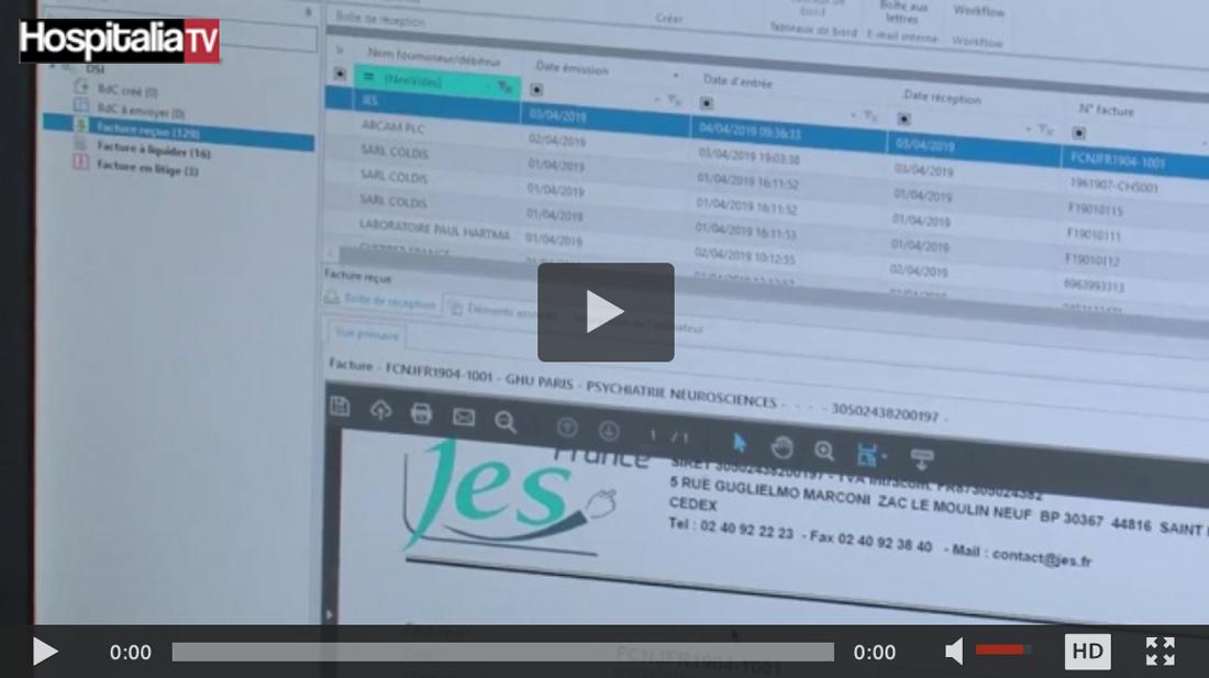 Automatisation des flux PESV2 via la solution Onbase au sein du GHU Paris