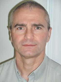 Le Dr  Éric Lamielle, pharmacien-gérant