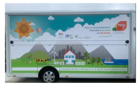 C'est l'été, le « health truck » part en tournée en Occitanie !