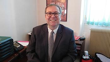 Olivier Bellot, directeur du CH de Pont-Sainte-Maxence
