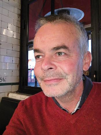 Le Docteur Xavier Palette, président du SNBH