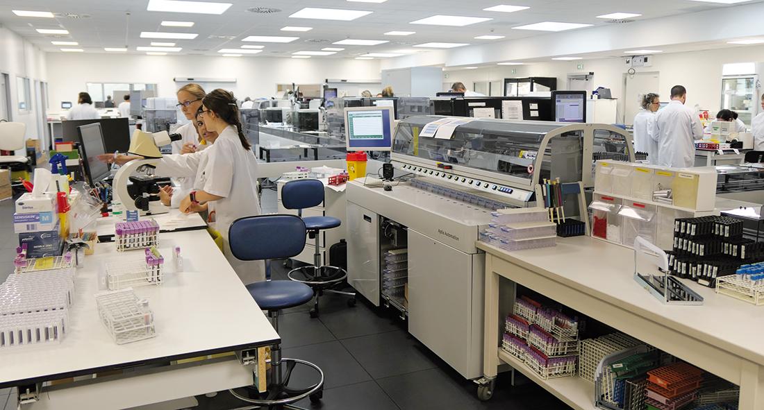 Le nouveau bâtiment de biologie médicale et de bio-pathologie du CHRU de Nancy