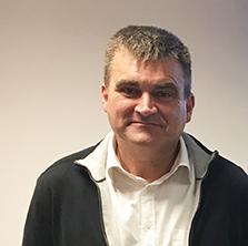 Hervé Dumoulin, responsable  de la nouvelle blanchisserie du  CHU de Poitiers