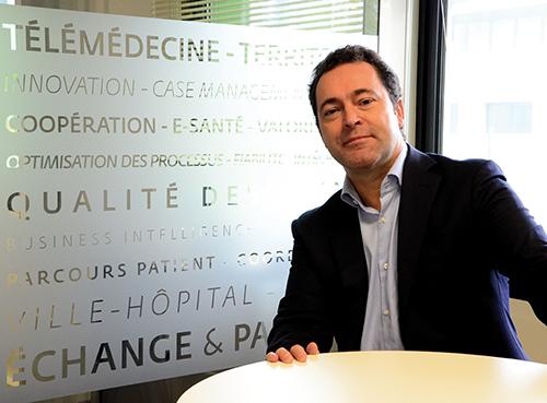 Christophe Boutin, Président Directeur Général du groupe Maincare Solutions