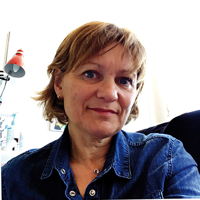 Agnès Oberlin Gateau, présidente de l'ACSES et chargée de sécurité au CH de Troyes