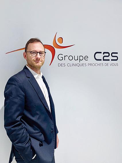 Thibaut Ollivier, directeur Développement et Transformation pour le Groupe C2S