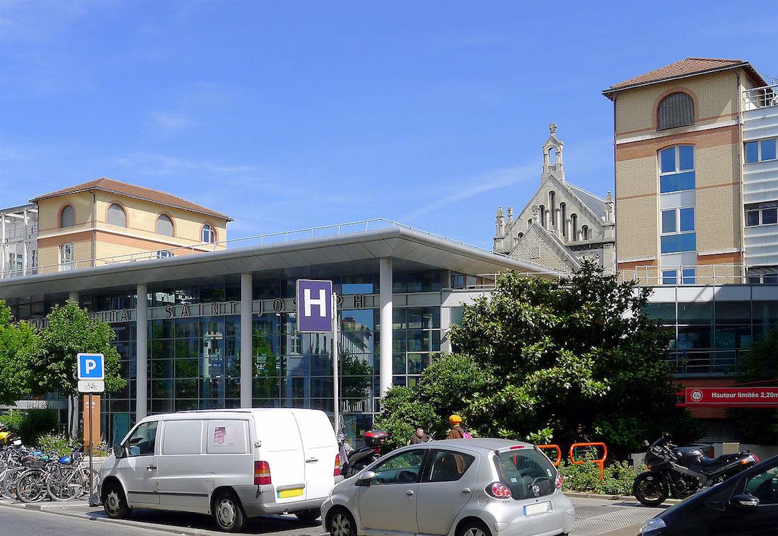 L'hôpital Paris Saint-Joseph se place comme le cinquième meilleur hôpital de France. ©Mbzt