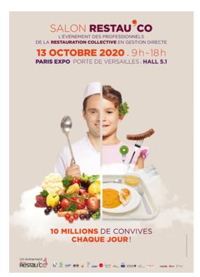 Le Salon Restau'Co 2020 décalé au 13 octobre 2020
