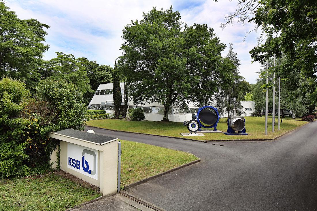 Le site de Gradignan où l'entreprise a développé ses prototypes. © KSB