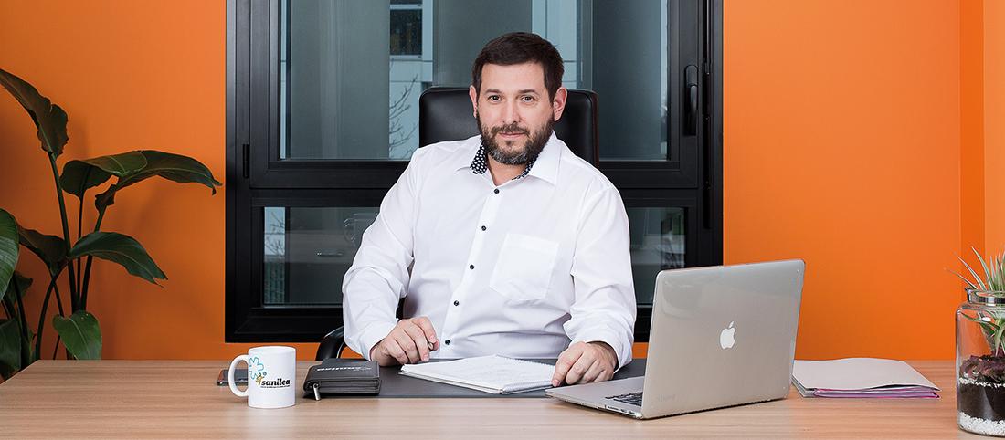 Fabien Soares, co-fondateur et Président de Sanilea