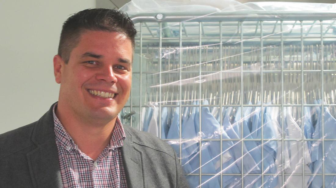 Marc Drezen, directeur technique opérationnel du GCS Blanchisserie Toulousaine. ©DR