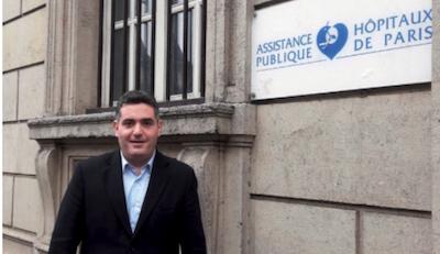Joe-Pascal Saji, ingénieur en chef référent restauration de l'AP-HP. ©DR