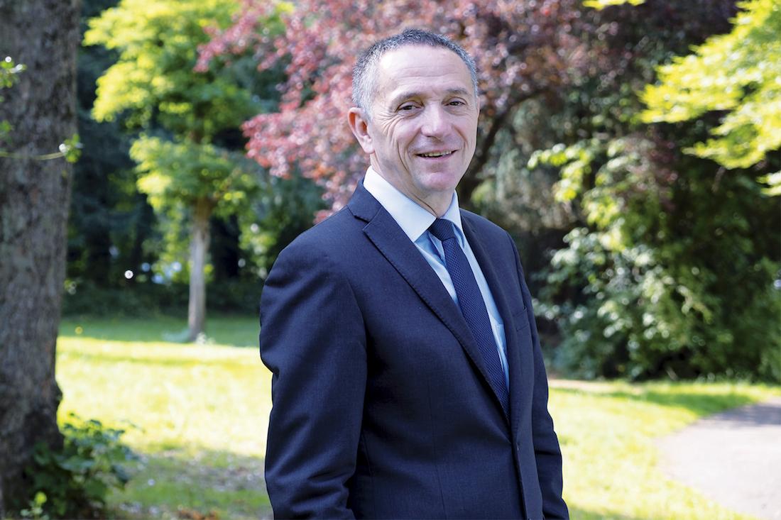Rodolphe Bourret, directeur général du Centre Hospitalier de Valenciennes. ©DR