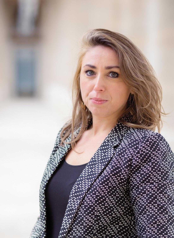 Julie Valette, responsable du développement de l'innovation numérique au sein de la direction des Systèmes d'Information du Groupe Hospitalier Paris Saint-Joseph. ©DR