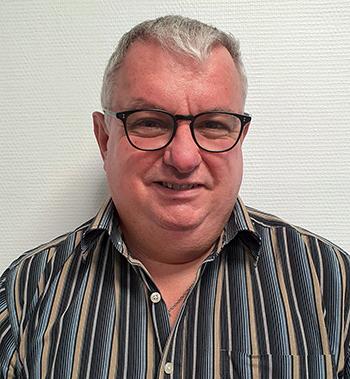 Jean-Philippe Sabathé, responsable de la prévention des risques professionnels au GHPSJ. ©DR