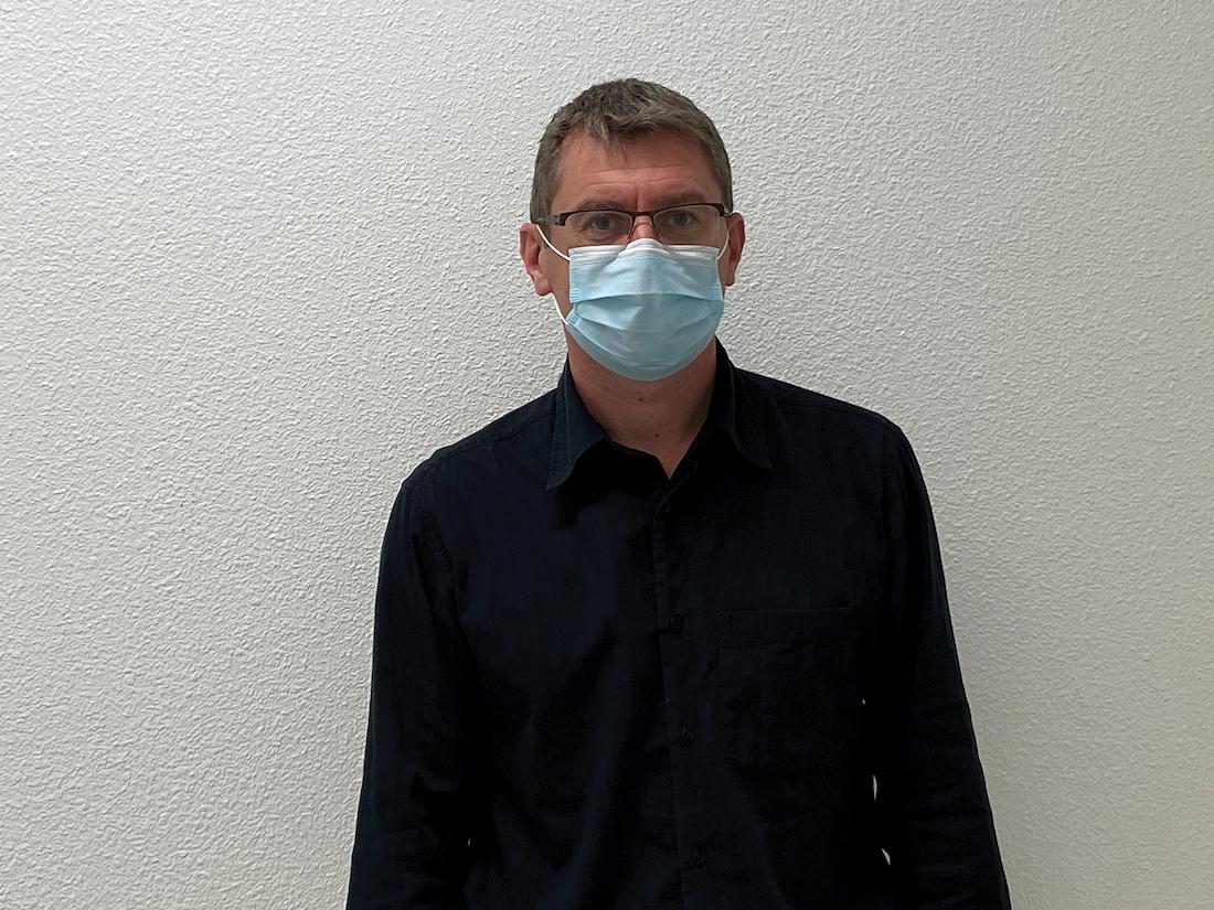 Cyril Guay, directeur général du Centre Hospitalier d'Ardèche-Nord (CHAN). ©DR