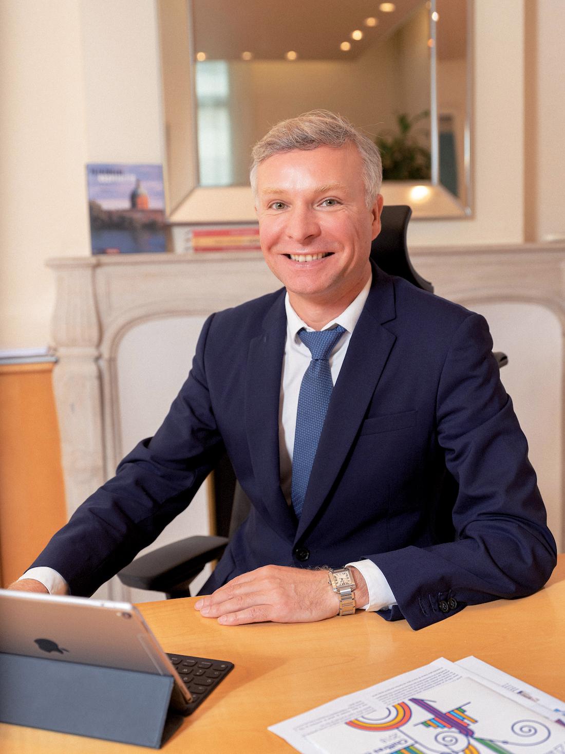 Yann Bubien, directeur général du CHU de Bordeaux. ©DR