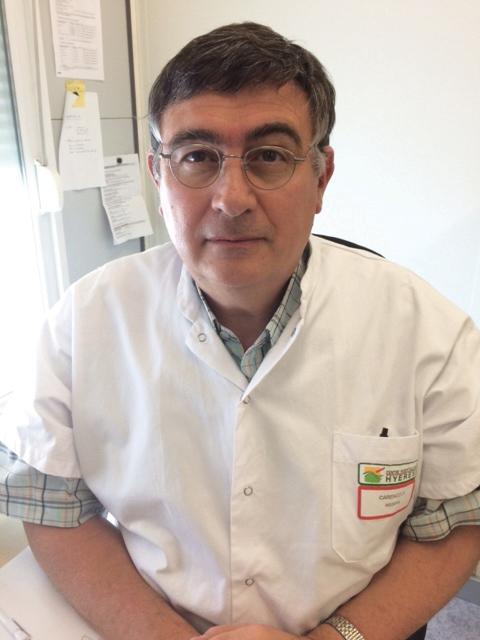 Dr Philippe Carenco, chef du service d'hygiène hospitalière du Centre Hospitalier de Hyères et président de la Blanchisserie Inter-Hospitalière du Var. ©DR