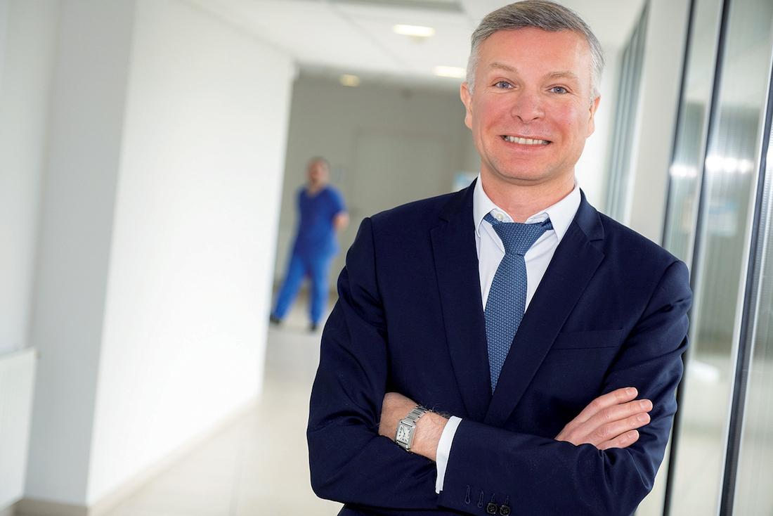 Yann Bubien, directeur général du CHU de Bordeaux. ©FredEncuentra_BarbotStudio