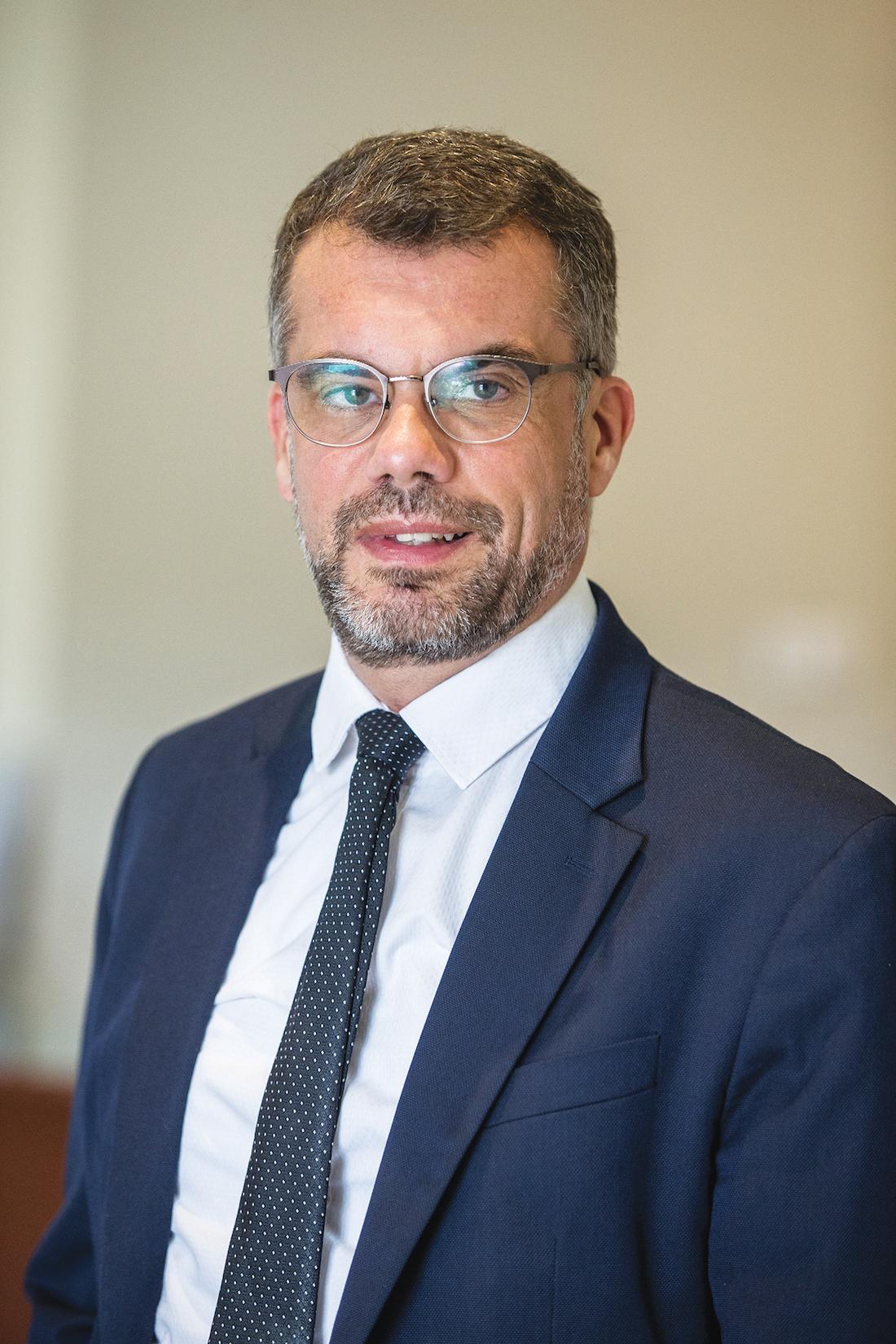 Marc Penaud, directeur général du CHU de Toulouse. ©DR