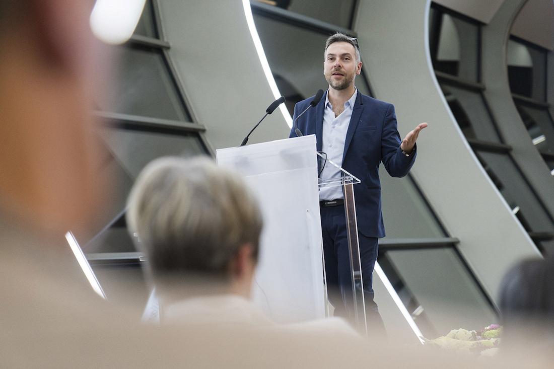 Régis Moreau, directeur du groupe Uneos. © Nicolas Leblanc