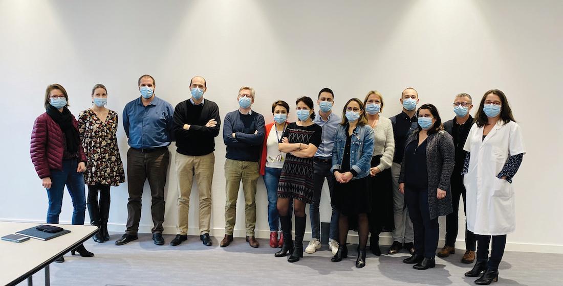 Le comité de direction de la clinique Santé Atlantique. ©DR