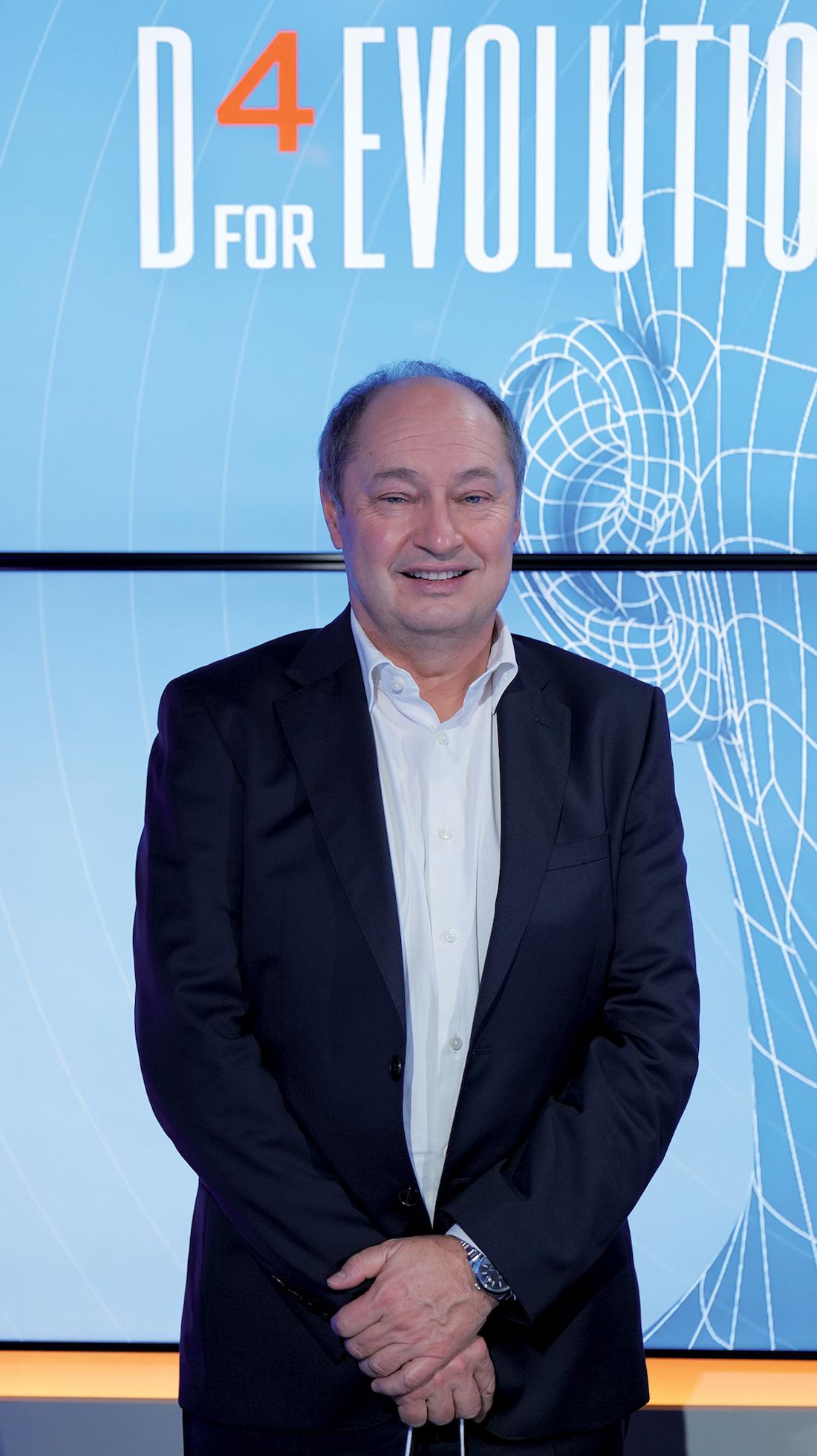 Frédéric Vaillant, directeur général de Dedalus France. ©DR