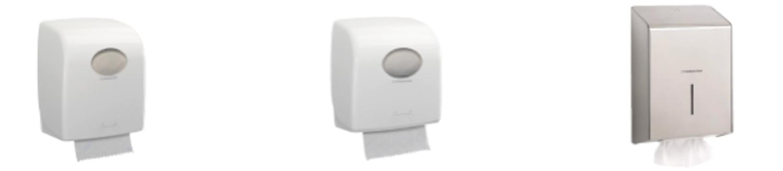 Les essuie-mains Scott® et Kleenex® conçus par Kimberly-Clark Professional.DR®