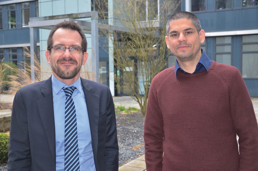 Thomas Flachaire, RSSI et Anthony Ambrogi, chargé de la Sécurité des Systèmes. ©DR