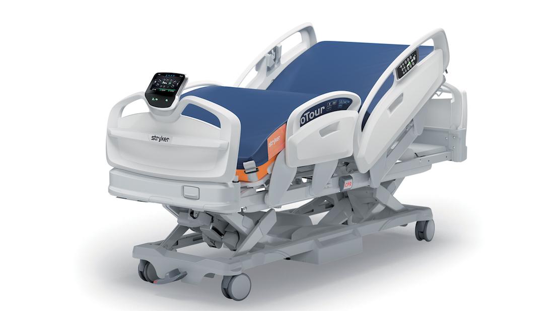 Stryker lance un lit d'hôpital
