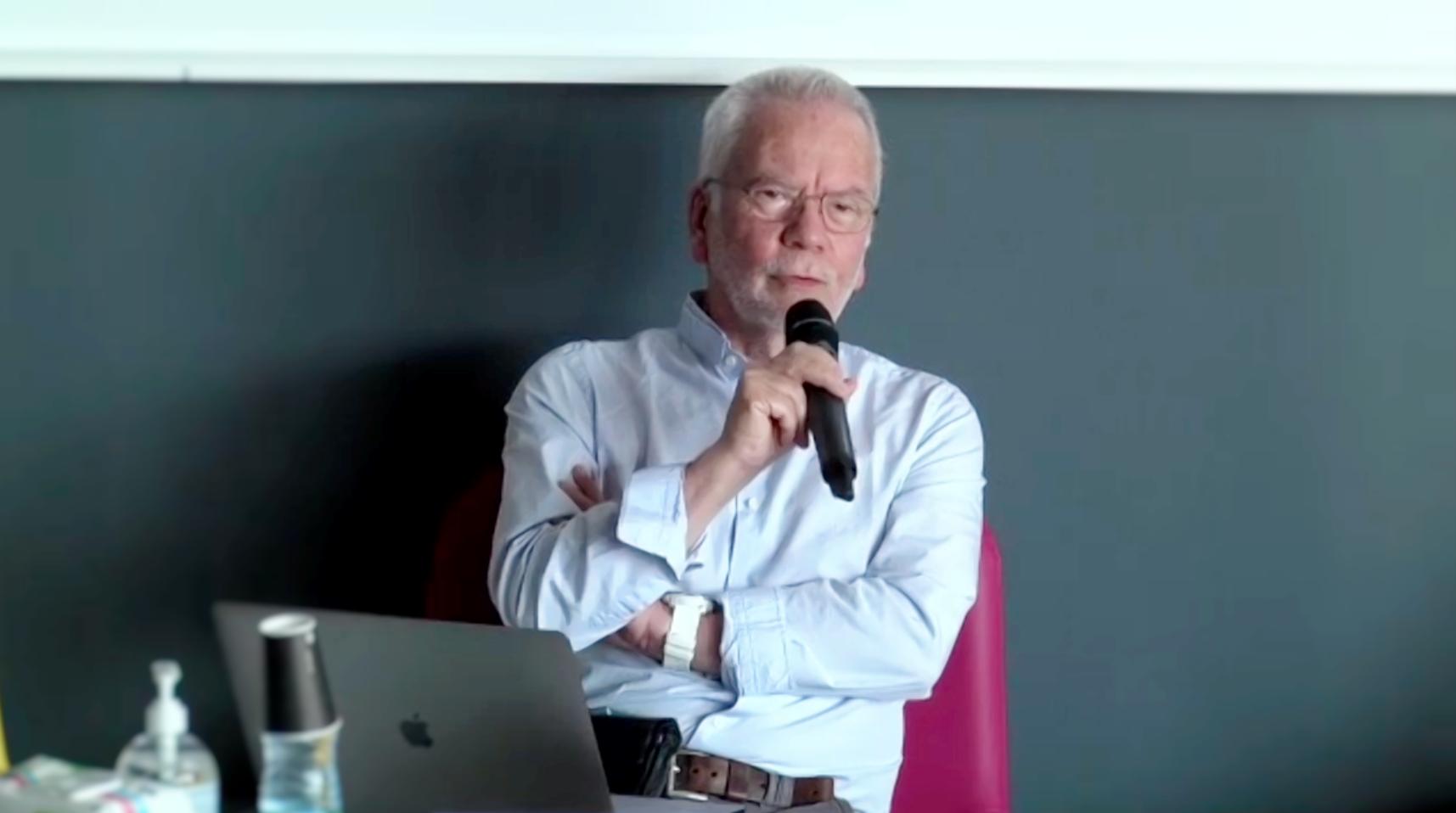 Claude Kirchner, directeur du CNPEN. © Capture d'écran