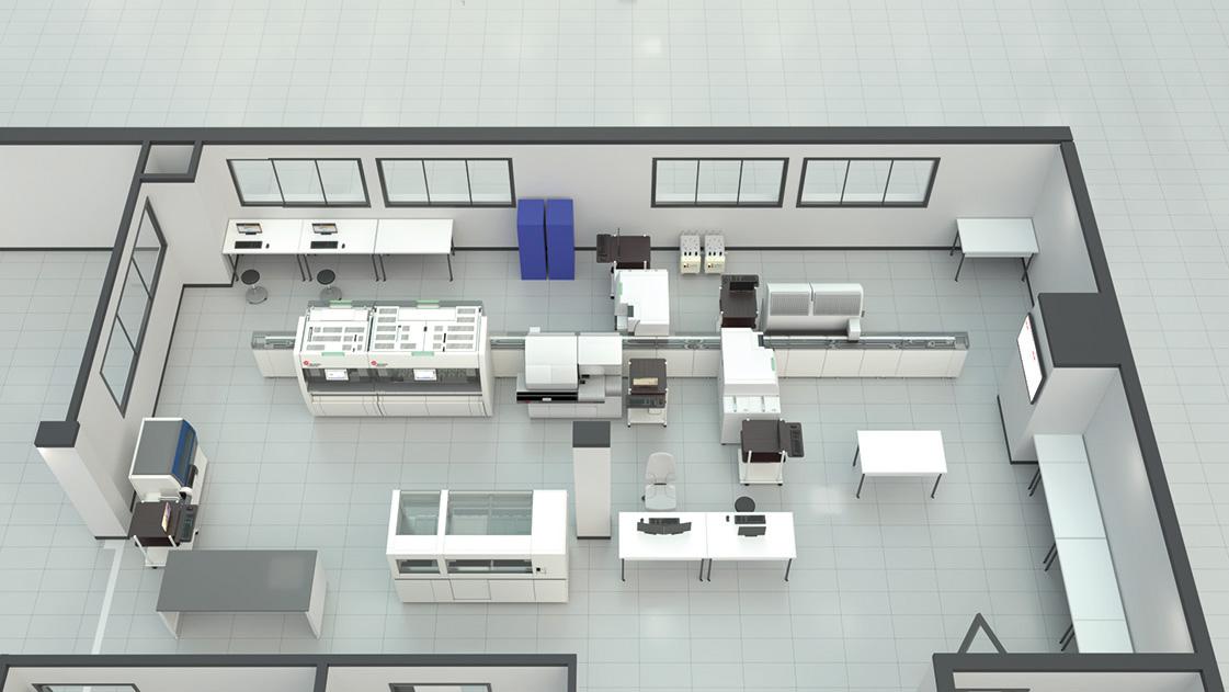 Le Centre Hospitalier de Calais innove pour le service aux patients avec sa nouvelle solution d'automatisation DxA 5000 Fit