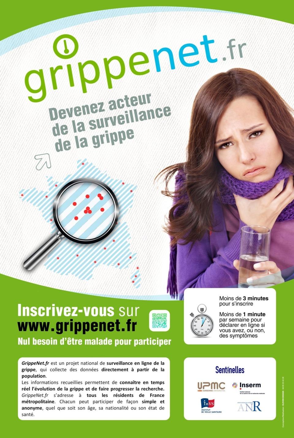 GrippeNet.fr : Devenez acteur de la surveillance de la grippe