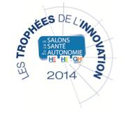 My Hospi Friends vainqueur du « Prix Spécial du Jury 2014 » aux Trophées de l'Innovation et élu « Coup de cœur » des internautes, lors des Salons de la Santé et de l'Autonomie