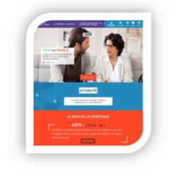 """Donner """"les clés de la génétique médicale pour tous"""": lancement de www.genetique-medicale.fr par l'Agence de la Biomédecine"""