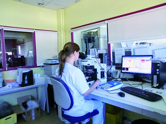 Analyse des prélèvements en Hématologie (Site de Belfort)
