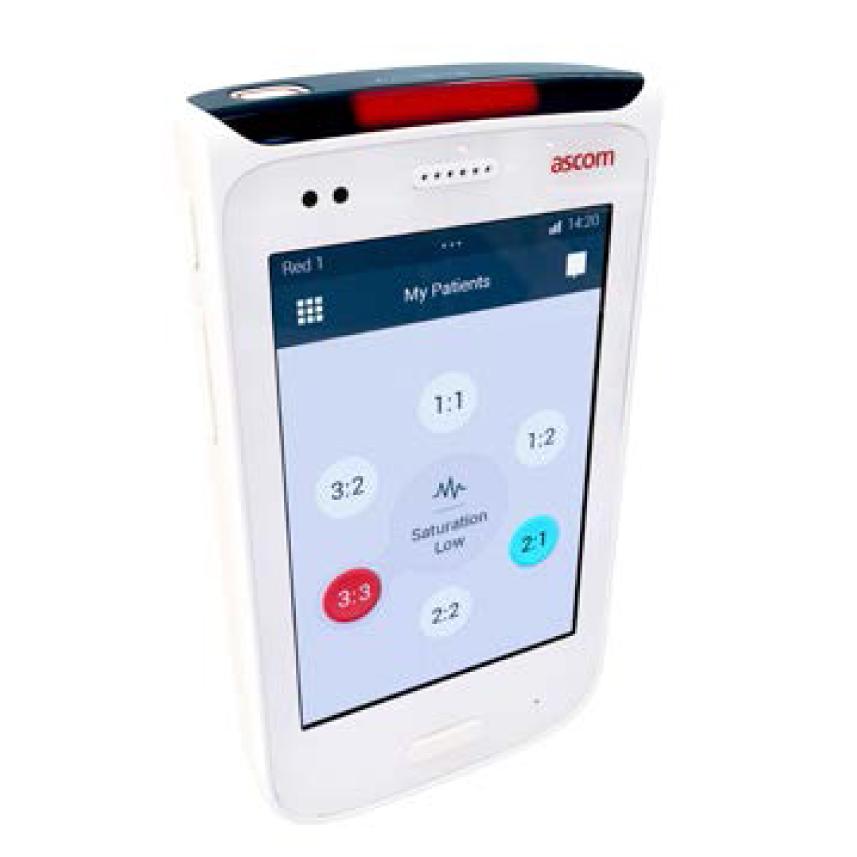 Ascom insuffle de l'intelligence aux flux de travail hospitaliers avec le lancement du nouveau Smartphone Ascom Myco.