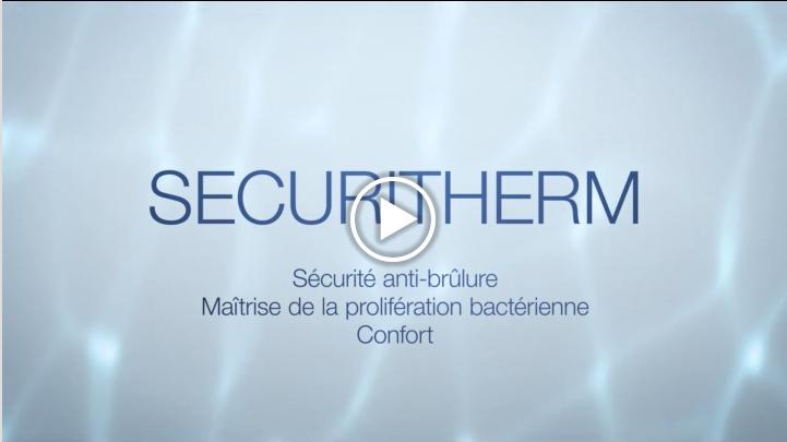 Delabie et son mitigeur thermostatique Securitherm apportent une  solution aux contraintes liées à l'eau dans les établissements de santé