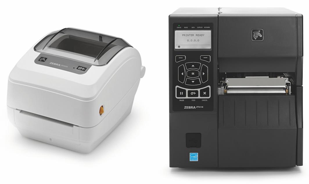 Les imprimantes Zebra Technologies GK 420 Healthcare et ZT410 :  de grands classiques
