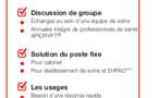 À l'occasion du congrès FFMPS qui aura lieu les 29 et 30 mars à Dijon, l'APICEM présentera la nouvelle version de l'application de messagerie immédiate sécurisée en santé MISS*.