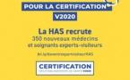 La HAS lance la campagne de recrutement des nouveaux experts-visiteurs V2020