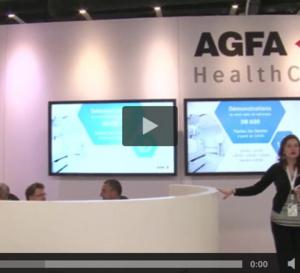 Les rencontres HospitaliaTV aux JFR 2016 : AGFA Healthcare