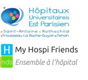 Les hôpitaux Saint-Antoine, Trousseau, Rothschild et Tenon offrent My Hospi Friends à leurs patients !
