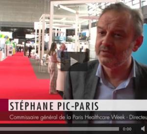 Les rencontres HospitaliaTV à la PHW 2016 : Entretien avec Stéphane Pic-Paris