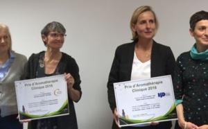 Les huiles essentielles à l'hôpital: remise du Prix d'Aromathérapie Clinique Naturactive