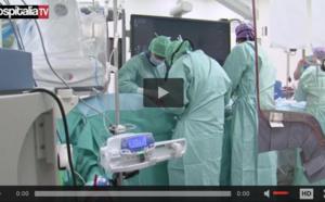 Première pose d'une endoprothèse fenêtrée au Centre Hospitalier de Valenciennes