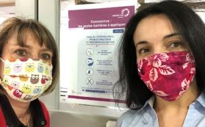 Masques «maison»: le tuto du CHU Grenobles Alpes largement relayé