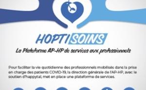 Hoptisoins, la plateforme de services de l'AP-HP